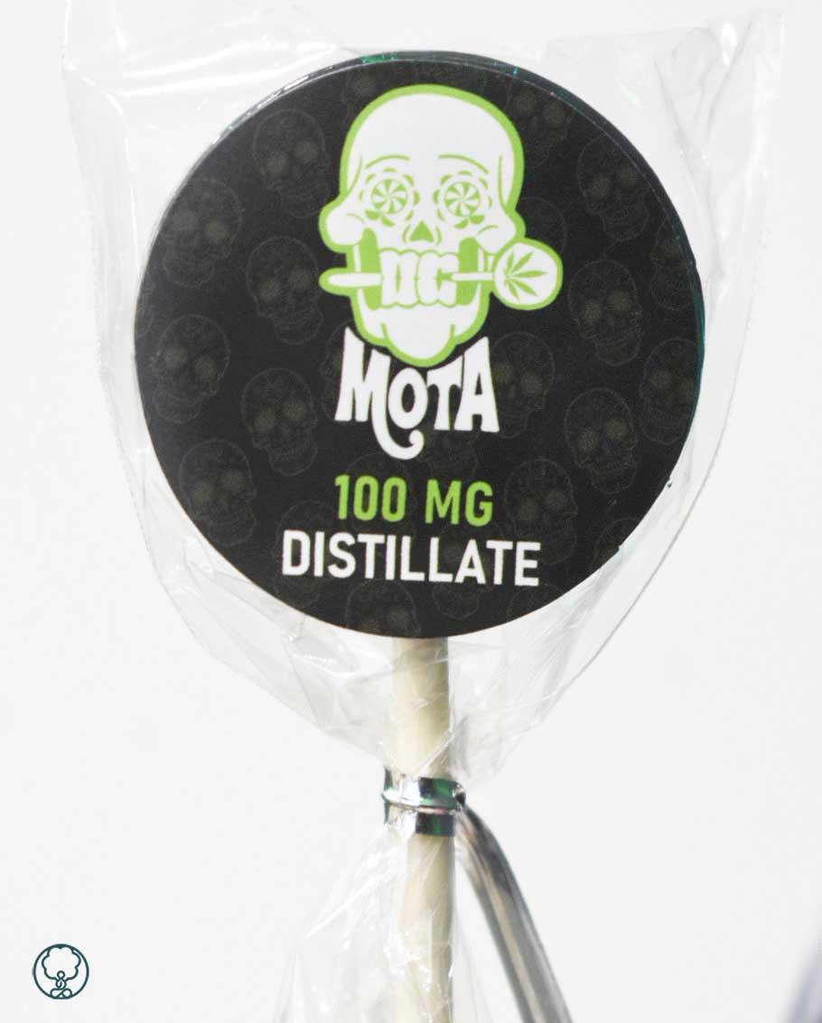 mota 100mg distillate edible lollipop