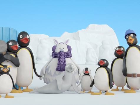 minemine主打星:Pingu!企鵝家族簡介