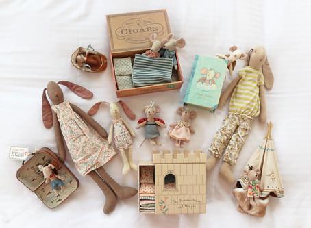 歡迎來到Maileg的童話玩具箱!豌豆公主、印地安公主,我都喜歡!