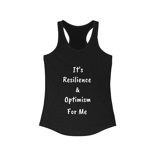 Resilience and Optimism Women's Ideal Racerback Tank