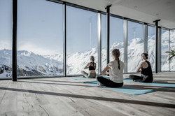 Yoga with a view Sky Relax Area
