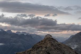 Als Aussichtsberg nimmt der Brunnenkogel den ersten Rang ein. Die mächtigsten Repräsentanten unserer alpinen Majestäten stehen in nächster Nähe in Reih und Glied