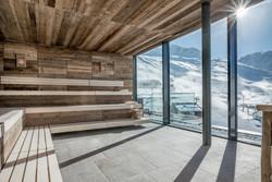 Panorama Sauna Sky Relax Area
