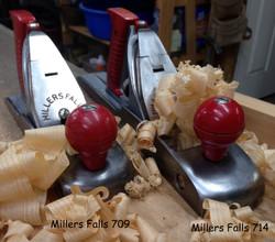 Millers Falls 709 smooth & 714 jack