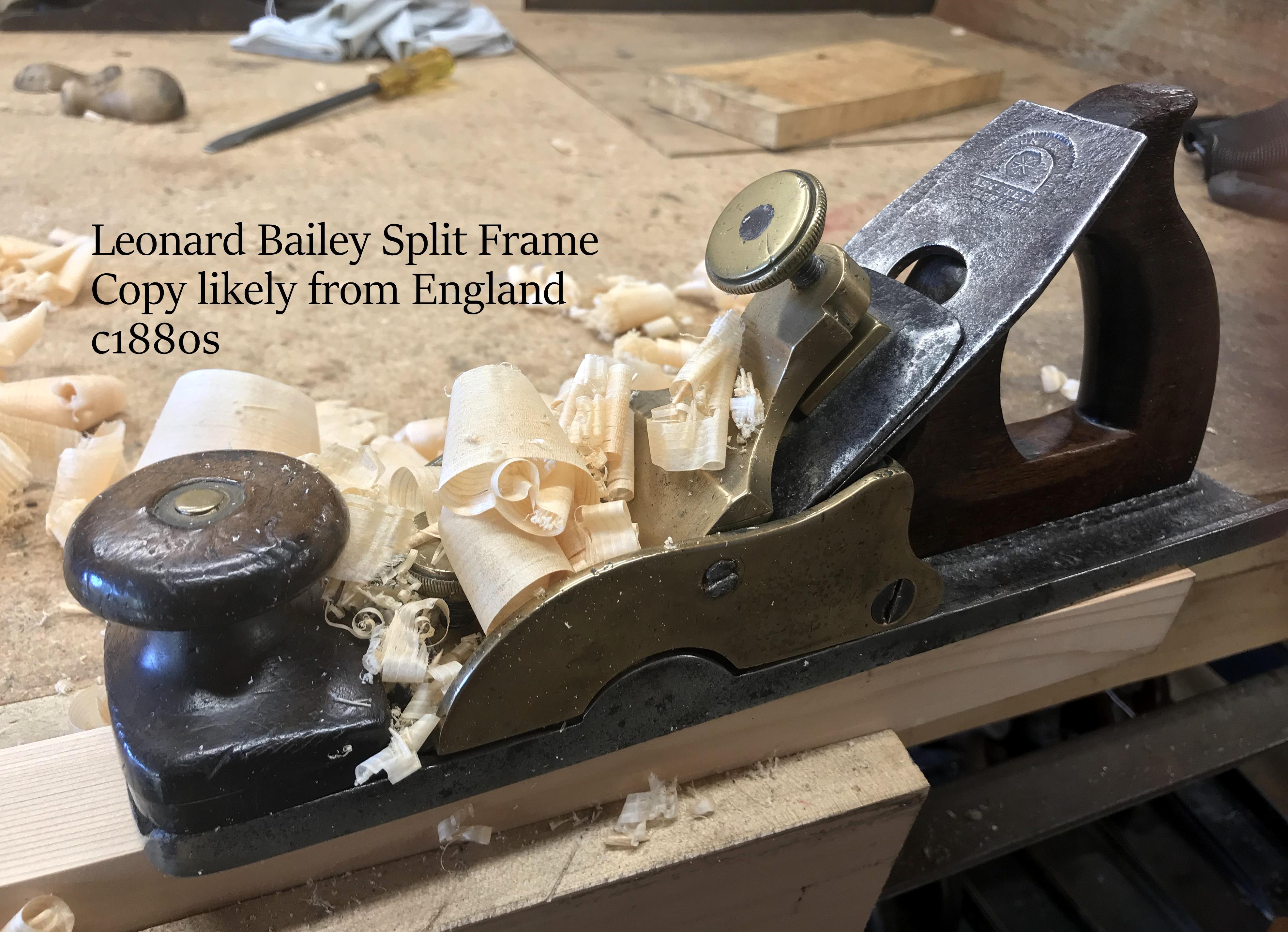Copy of L. Bailey patent split frame