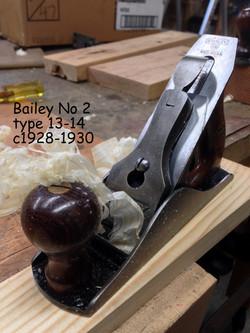 Bailey No 2 c1928-1930