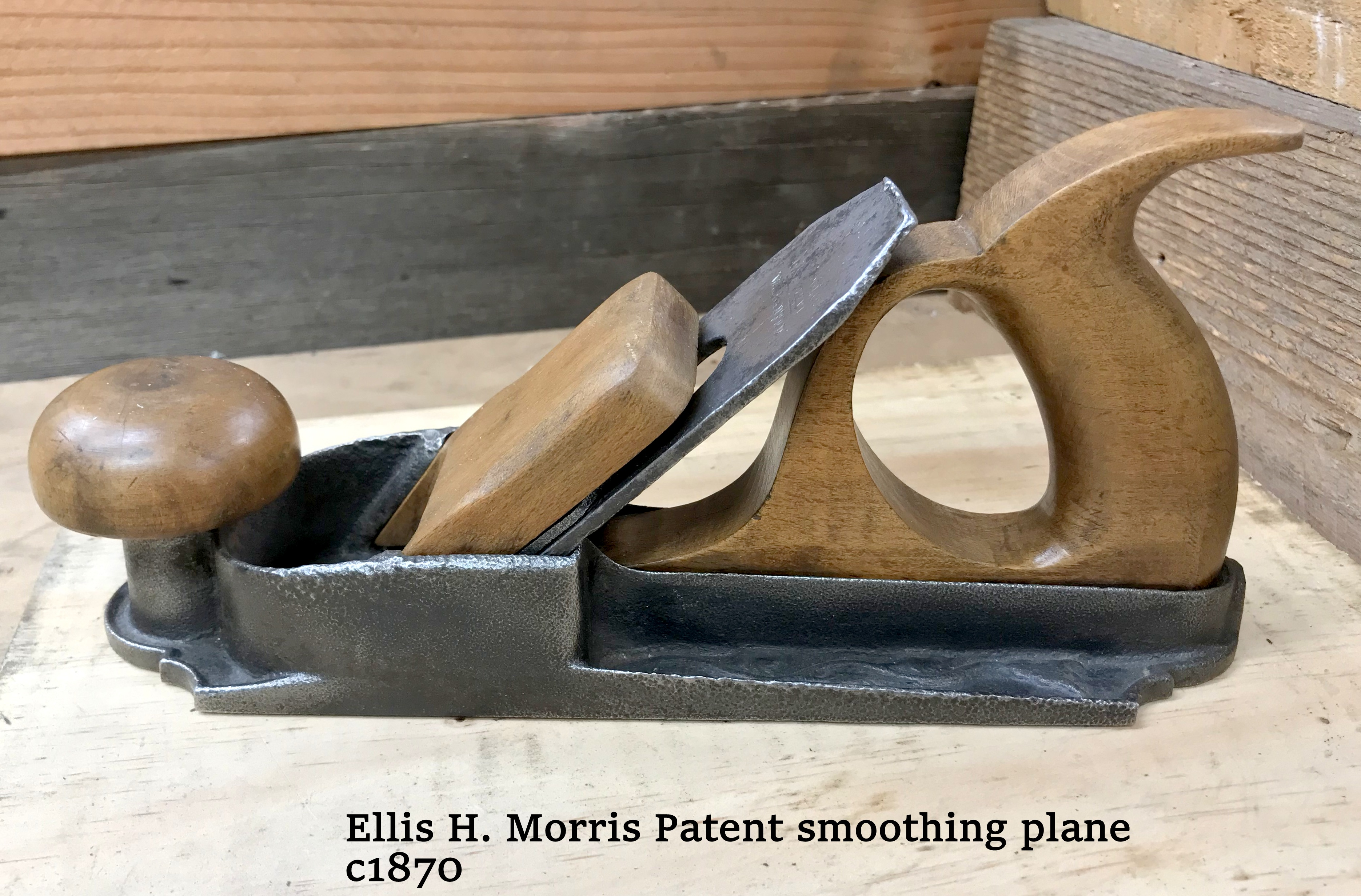 Morris Patent 1870 Smoother