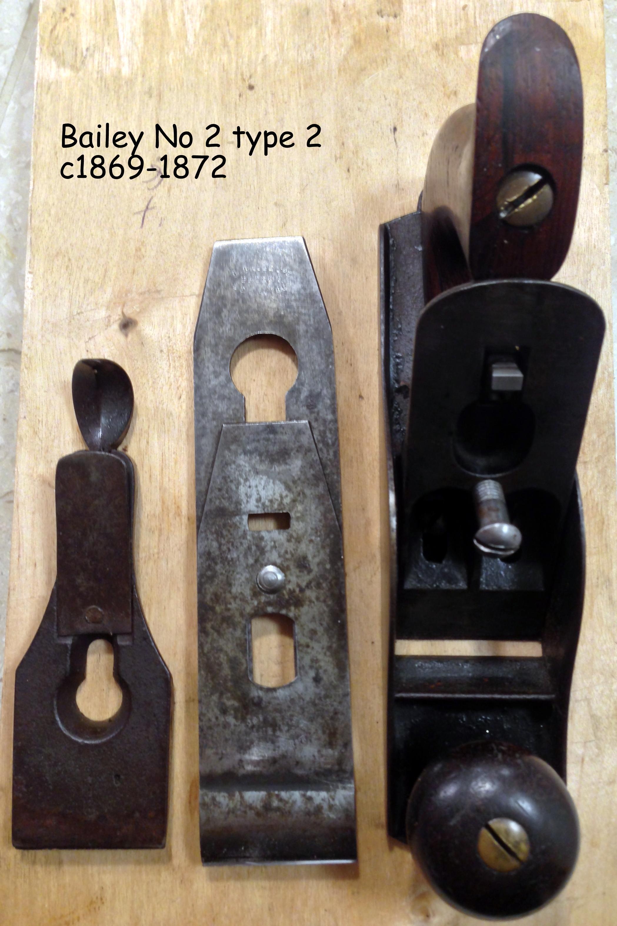 Bailey No 2 type 2 c1869-72