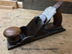 Holly's 1852 patent smoothing plane