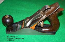 No 2 type 15 orange frog