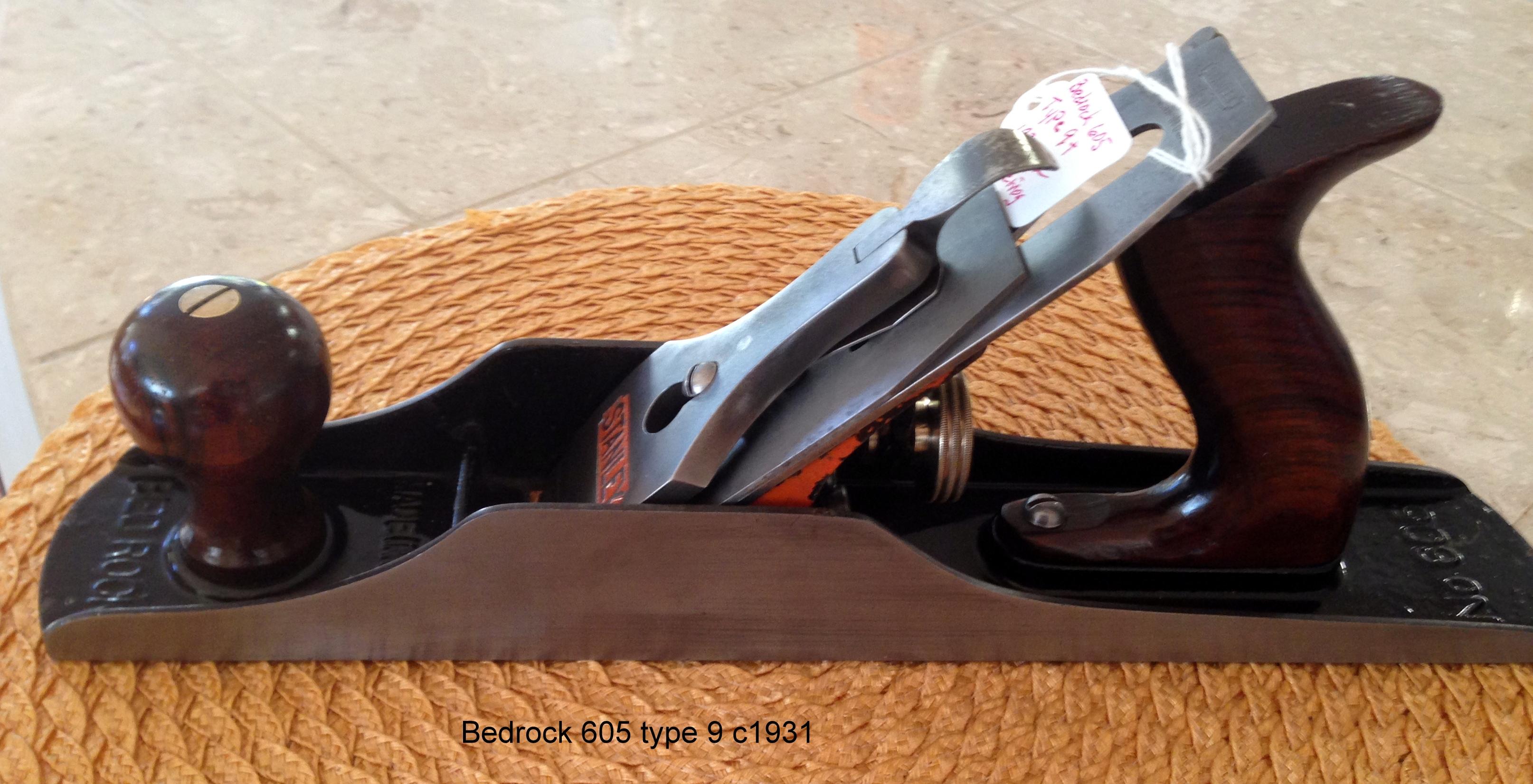 Bedrock 607 Type 9 c1930-31