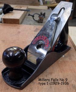 Millers Falls No 9 tp 1 c1929-1936