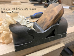 Little Bulldozer Infill Plane Maker Unkn