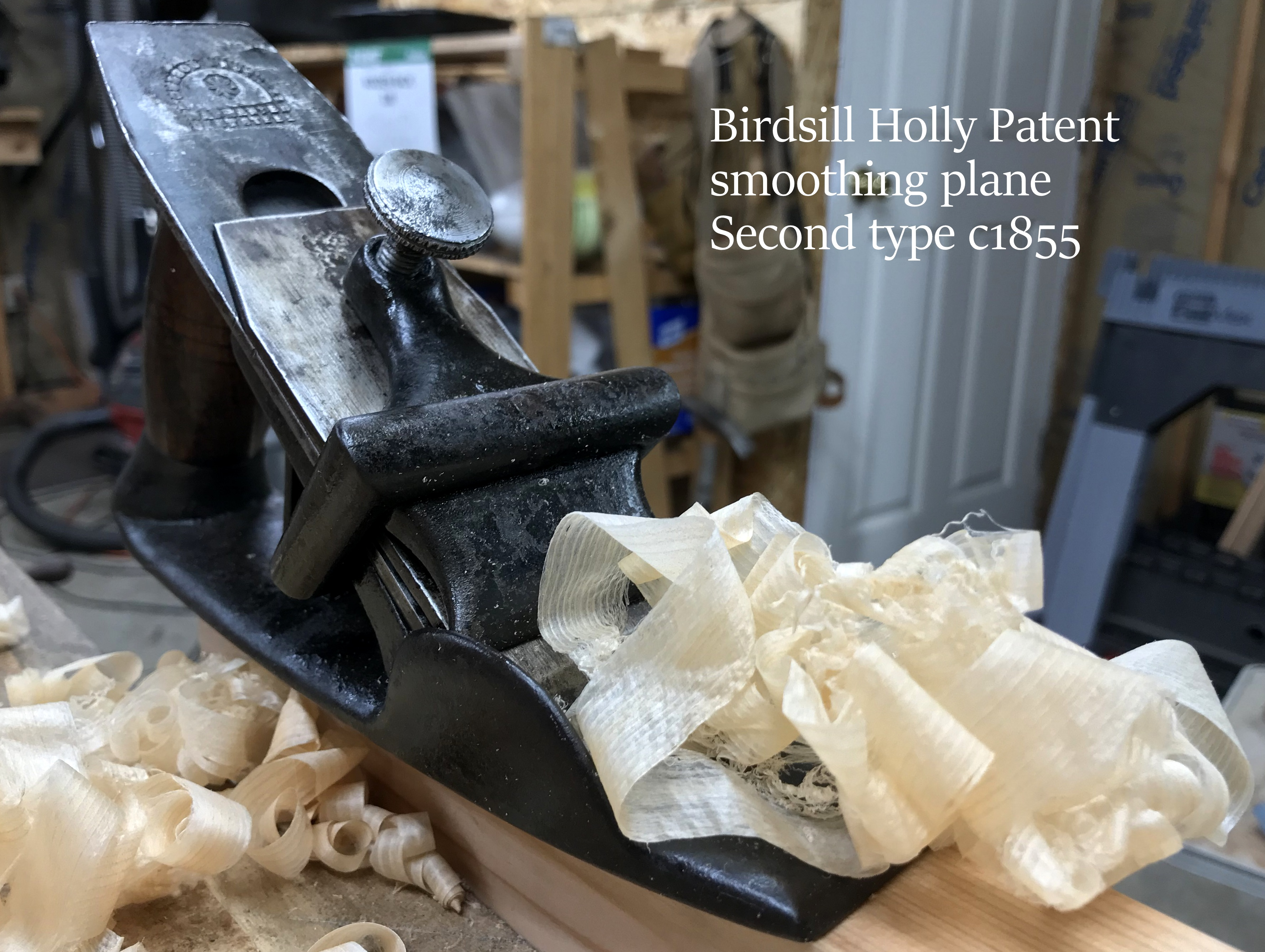 2nd Holly Patent Smooth Plane