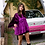 Thumbnail: Purple Velvet Smock Top