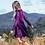 Thumbnail: Purple Velvet Dress
