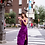 Thumbnail: Purple Velvet Slip Dress
