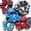 Thumbnail: Blue Plaid Scrunchie