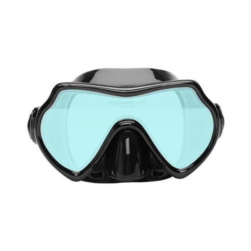 Oceanways Superview-SL TrueColor w/Anti-Fog Scuba Dive Mask (OM8A836BS)