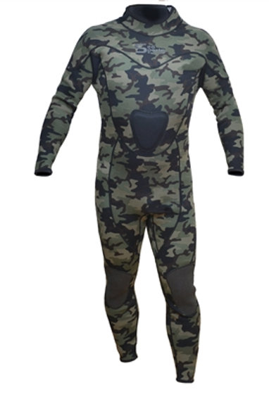 Sea Sports Camouflage 3mm One Piece Wetsuit