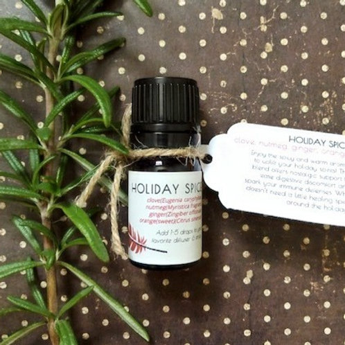 Holiday Spice Essential Oil Blends