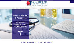 Michael Hill & Associates Hospital operations consulting.  New website from ...