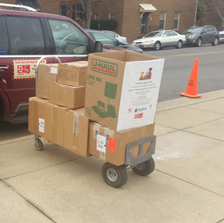 book drive -Lyles Couch Elementary-Old T