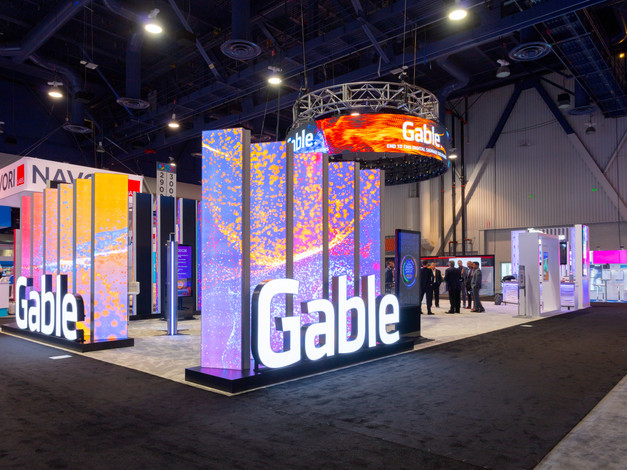 Gable: Island Trade Show Booth