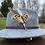 Thumbnail: Pack «Chapeau gris clair + broche au choix»