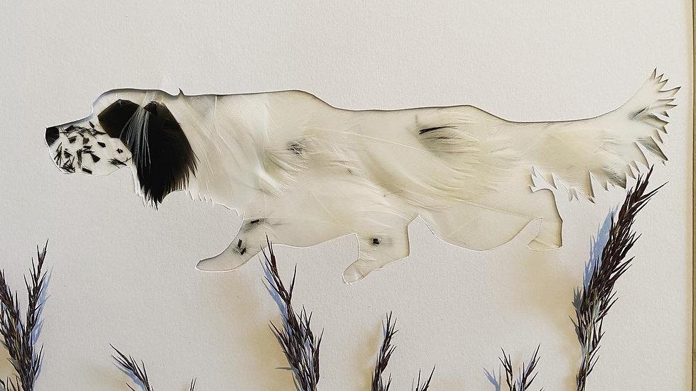 Portrait chien corps entier