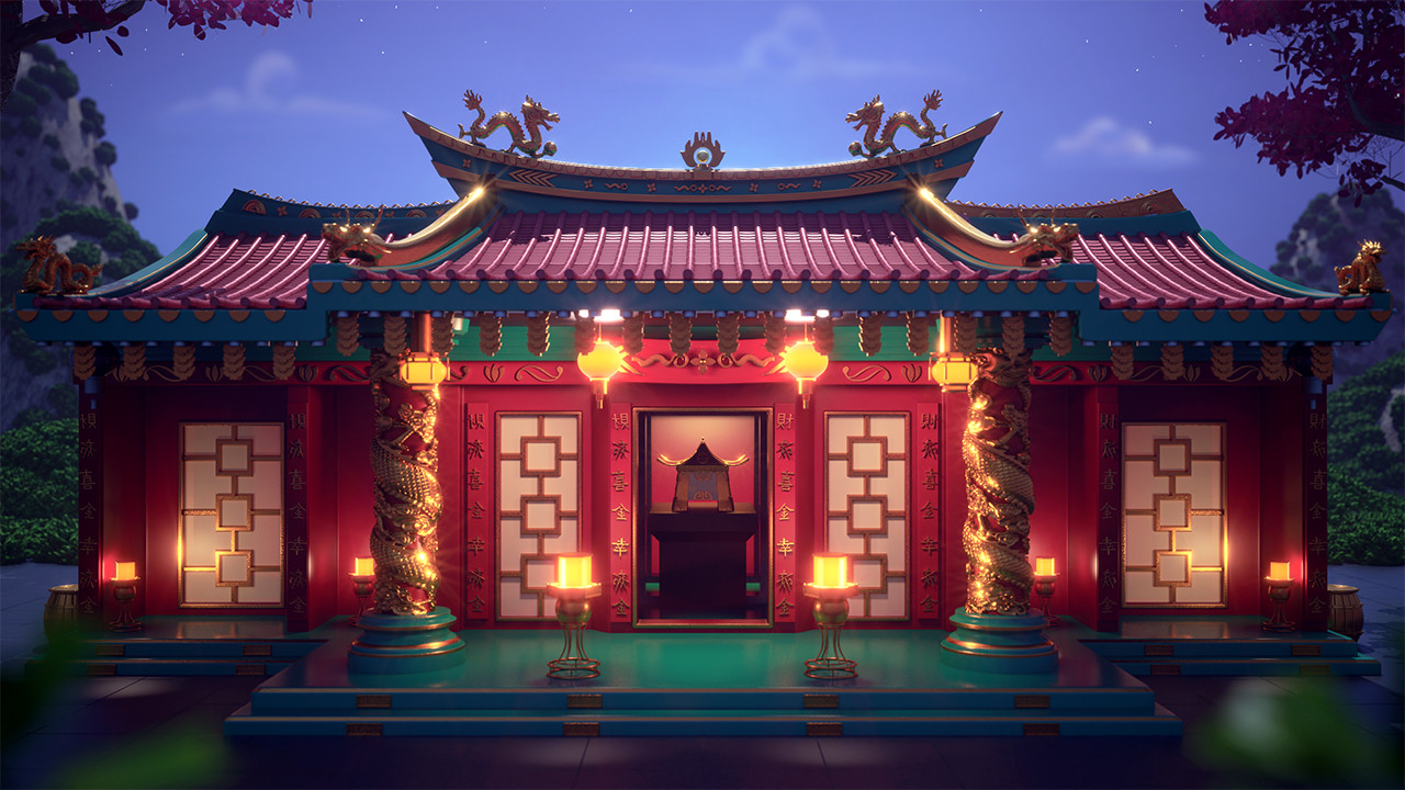 Chinese Themed Background