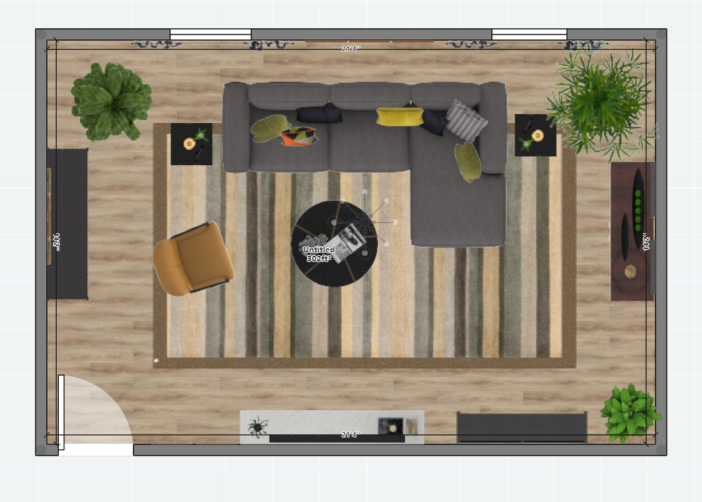 Furniture Placement Plan