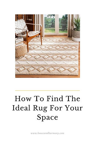 How To Find The Ideal Rug For Your Space