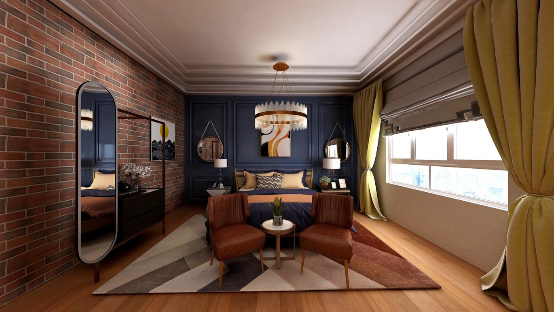 Eclectic Urban Bedroom