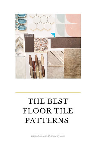 The Best Floor Tile Patterns