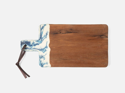 Austin Blue Swirled Serving Board