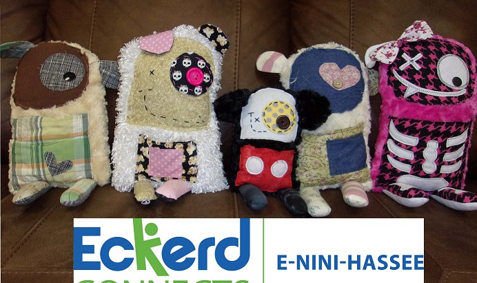 E-Nini-Hassee August 2018 Newsletter Featuring: A Stitch in Time Saves Your Mental Health
