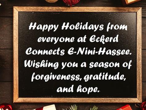 E-Nini-Hassee December 2019 Happy Holidays!