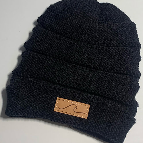 Winter Wave Slouch Beanie