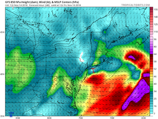 Incoming Nor'easter Swell for the Northeast on Friday