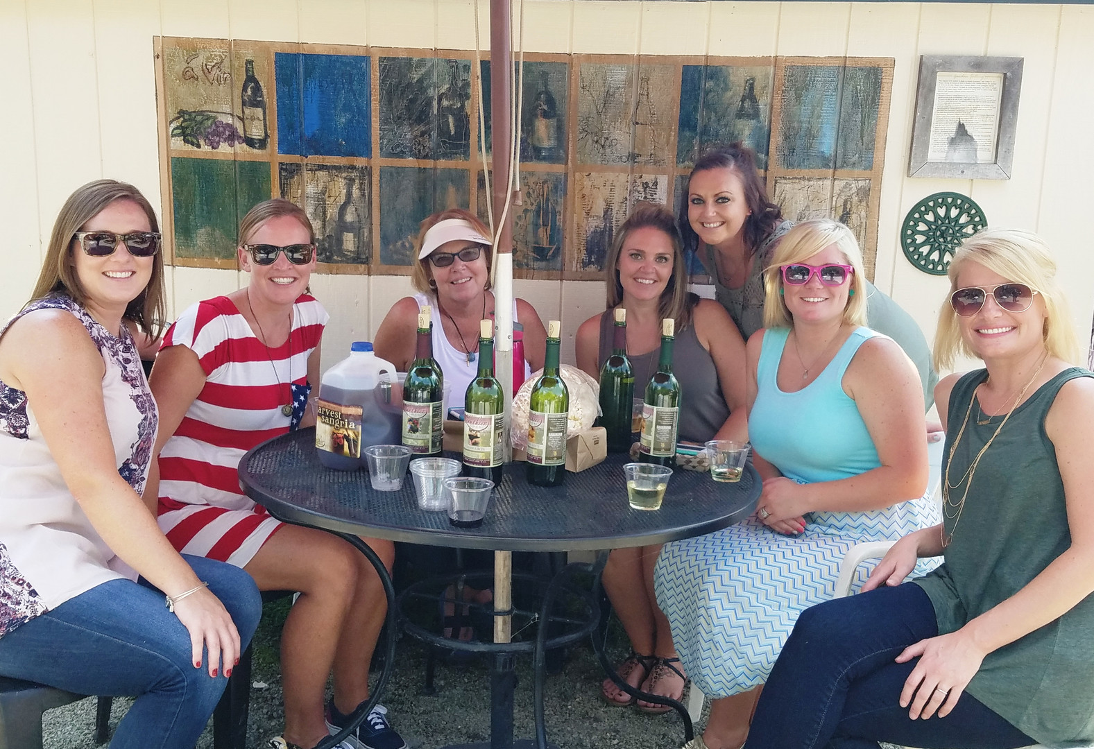 Lanthier Winery ladies day out in the ga