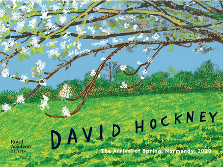 David Hockney: The Arrival of Spring, Normandy, 2020