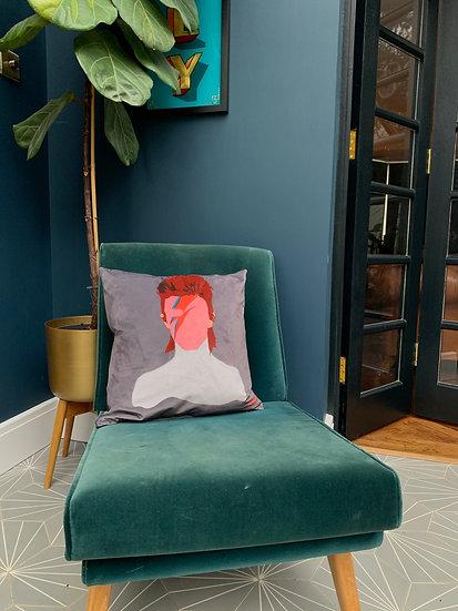 Soft Bowie cushion - 50 x 50
