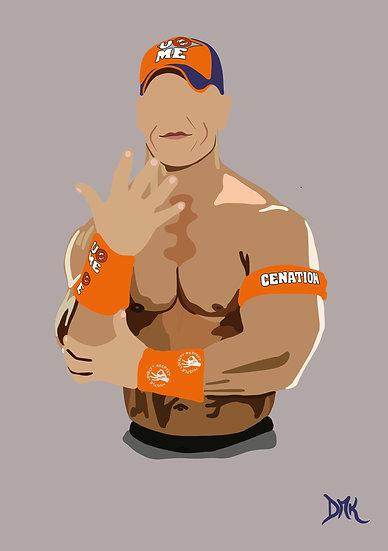 John Cena - Faceless Artwork