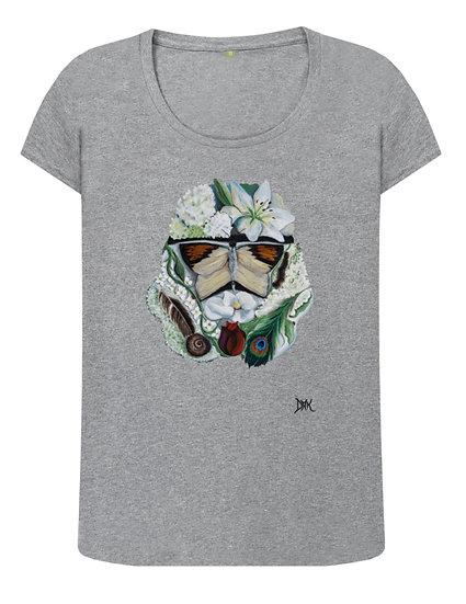 Botanical Stormtrooper, Ladies tee