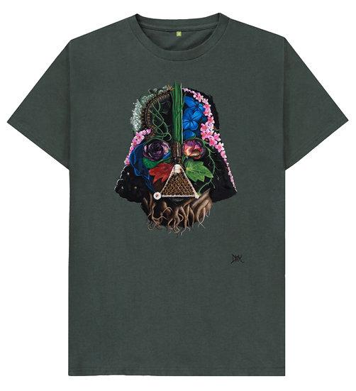 Botanical Darth Vader Unisex Tee