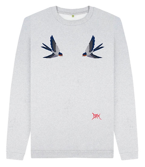 Recycled Sweatshirts - Birds