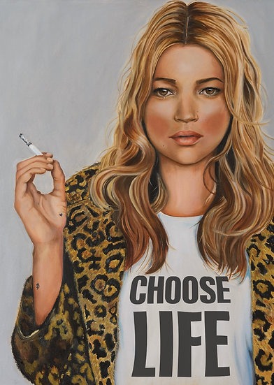 KATE MOSS - CHOOSE LIFE