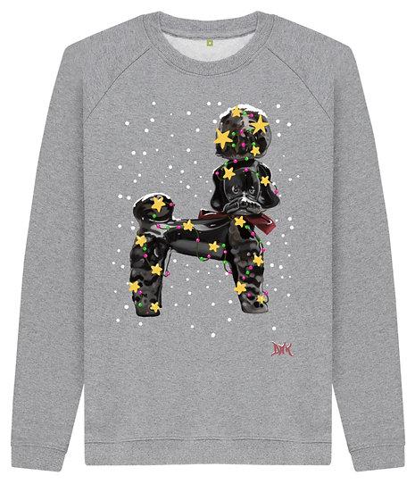 Christmas Kitsch Poodle - Sweatshirt