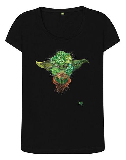 Botanical Yoda Ladies Tee